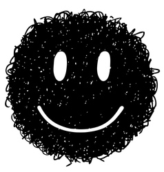smile face 2 vector image