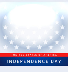 Usa 4th of july independence day background vector