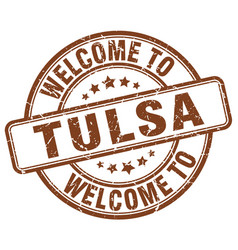 Welcome to tulsa vector