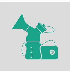 Electric breast pump icon vector image vector image
