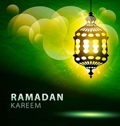 Ramadan kareem greeting background eps 10 vector