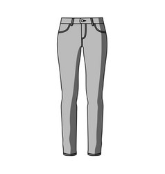 Green skinny pants for women women s clothes for vector