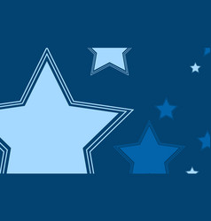 Big star design background collection vector