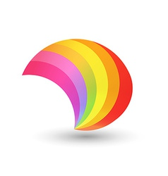 Style Rainbow Shape vector image vector image