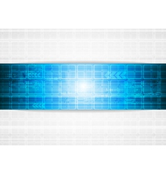 Vibrant tech design vector image