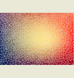 Abstract background with voronoi geometric shapes vector