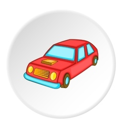 Car icon isometric style vector