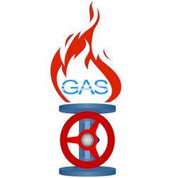 Icon gas industry 2 vector image vector image