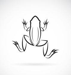 image of an frog design vector image vector image