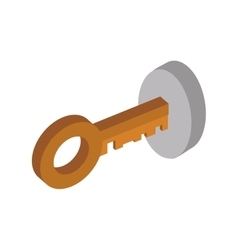 Key security system protection icon vector