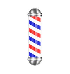 barbershop pole isolated vector image