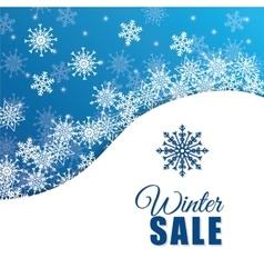 Winter snow or snowflake vector
