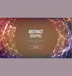 technological sense abstract vector image