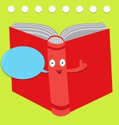 Talking book vector