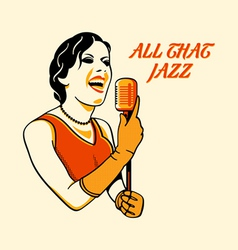 all that jazz vector image vector image