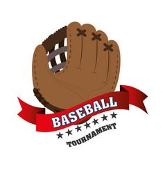 baseball club emblem icon vector image vector image
