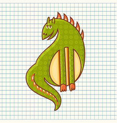 dragon baby toy vector image