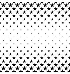 monochromatic pentagram star pattern - background vector image vector image