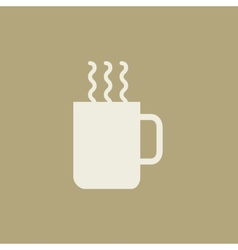 Drink flat icon vector