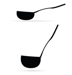 ladle vector image