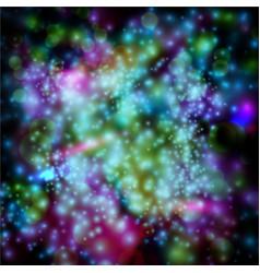 Stars on black eps10 vector