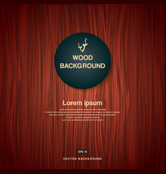 vintage brown wood plank as texture and background vector image vector image