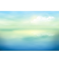 Water Background Calm Clear vector image vector image