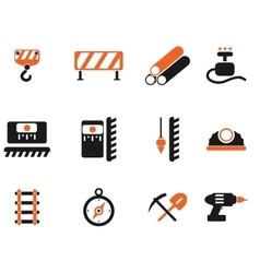 Symbols of building equipment vector