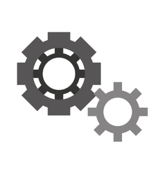 Gears isolated icon design vector