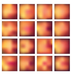 Abstract blurred blur backgrounds vector image