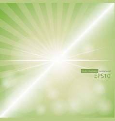 Green color burst vector