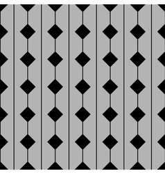 Tile pattern with grey and black background vector image vector image