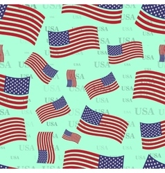 Seamless texture usa flag bright country nation vector