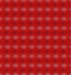 Abstract red geometric background vector