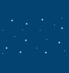 Background star on blue sky vector