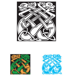 Celtic symbol great for tatoo or shirt print vector