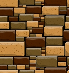 Seamless pattern with decorative stones-5 vector image