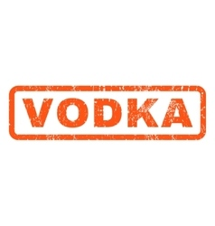 Vodka rubber stamp vector