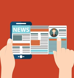 Online reading news of online reading news using vector
