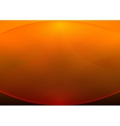 Orange grid background vector