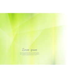 Bright green abstract background vector