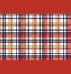 Check classic tartan seamless pattern vector