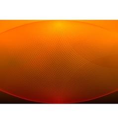 Orange grid background vector image