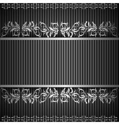 SILVER exergue vector image