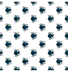 Spiders seamless pattern vector image