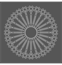 Geometric hipster circle 6175471612 vector