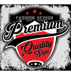 Fashion design company typography t-shirt graphics vector image