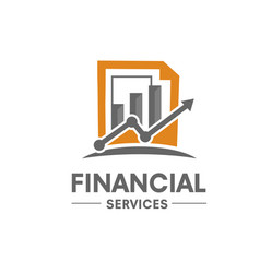 Financial success logo vector