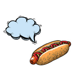 Hotdog-100 vector