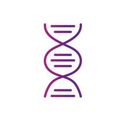 Line dna science cell medicine molecule vector